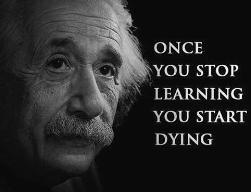 Een leven lang leren…