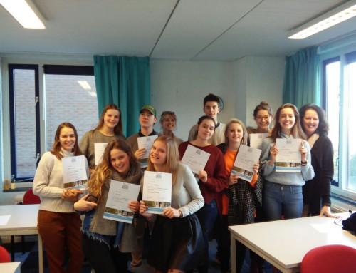 Belgische NT2-cursisten bij Instituut Jeroen Bosch
